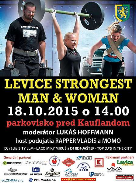 levice strongest man woman 2015